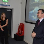 Professor Alice Roberts visits BU to talk about public engagement