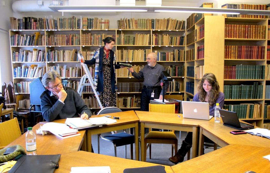 CMH members visit Sweden