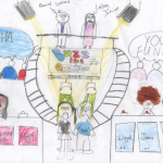 Buzz the Question - A child's depiction of their 'ideal' media.