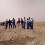 ICMP staff including Ian Hanson support Iraq Ministry of Human Rights investigations of mass graves in Ramadi, Iraq 2011.