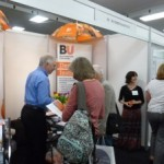 BUDI attends the Alzheimer's 2014 Care Show in London