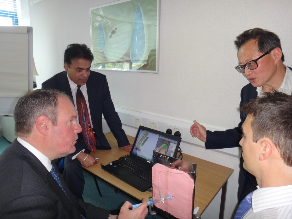 Epidural Research presented to MP