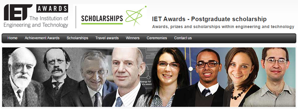 IET Scholarship 2013 Awarded to Dr Neil Vaughan