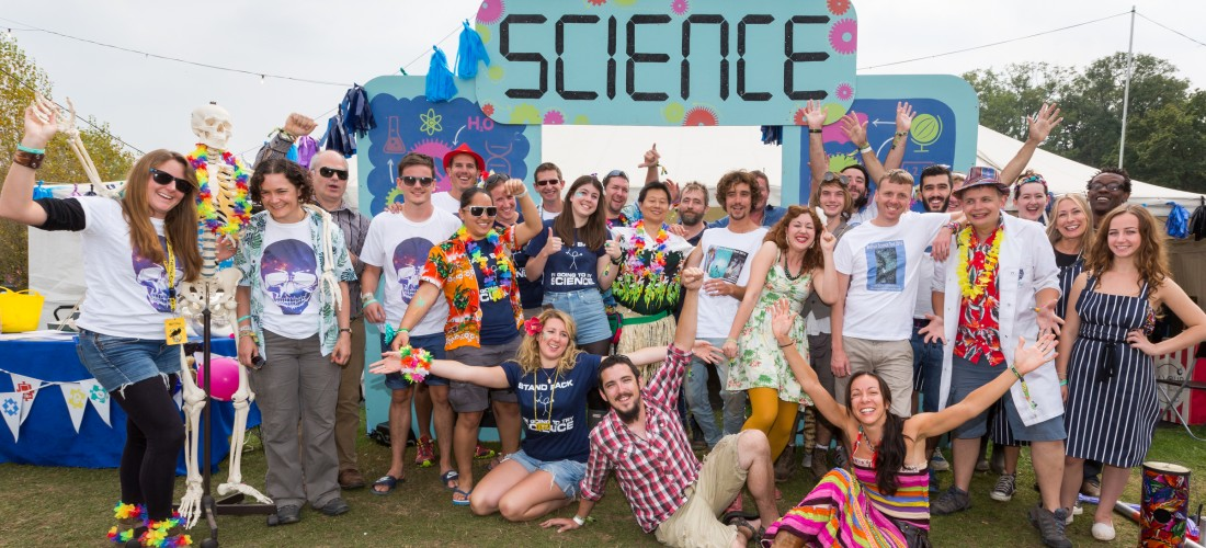 Science Tent Bestival 2014