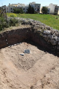 Re-excavation work at Skorba Trench M