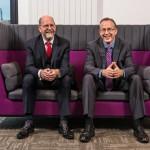 Professor John Vinney and Professor John Fletcher