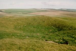 Harrow Hill: a Neolithic flint mine today