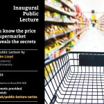 Inaugural lecture: how supermarket scanner data reveals the secrets of the checkout
