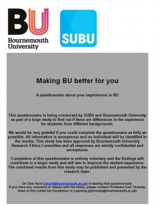 Making BU better for you
