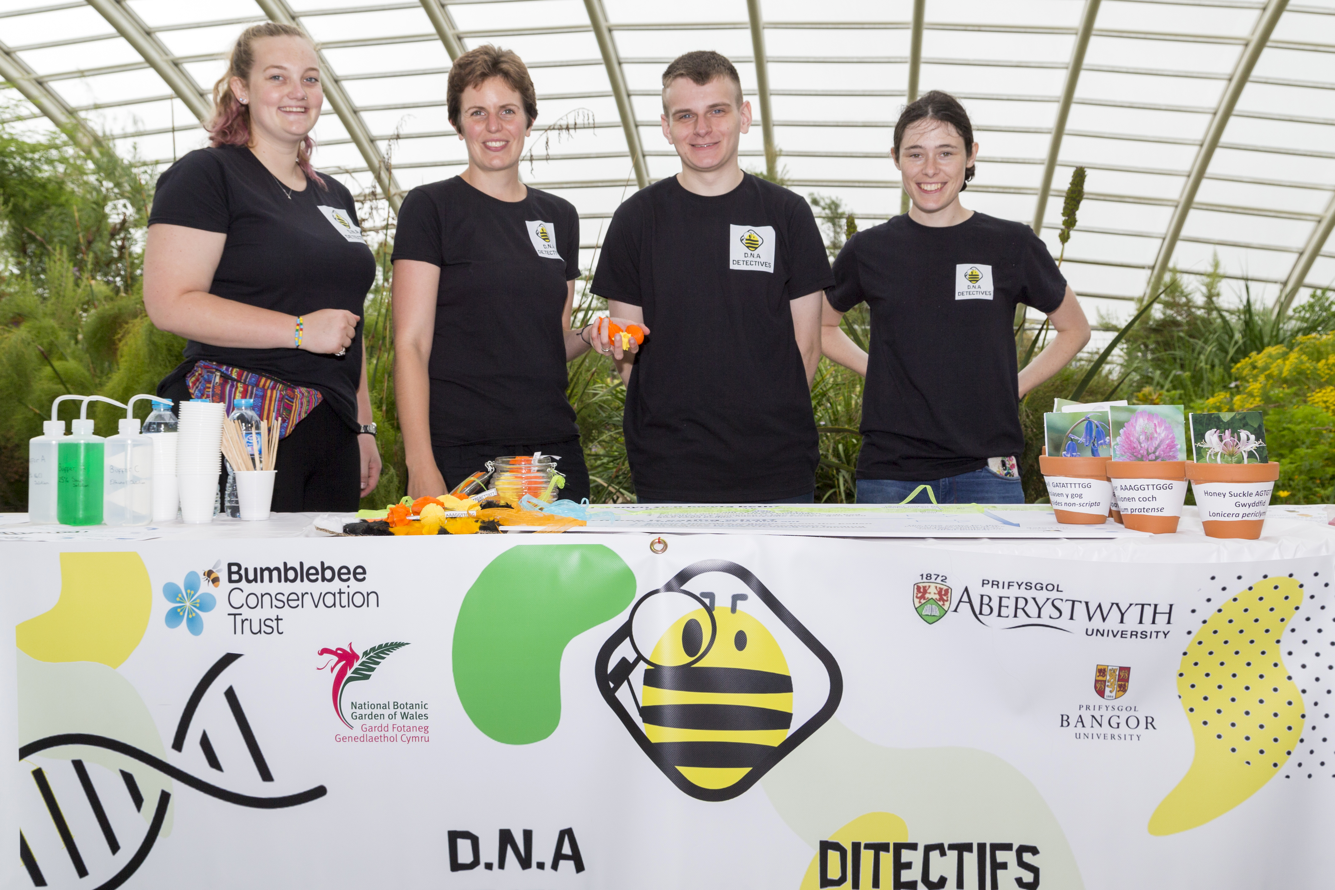 The team at the National Botanic Gardens of Wales photo by Tim Jones