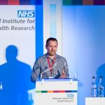Samuel Nyman from ADRC presents at NIHR annual conference