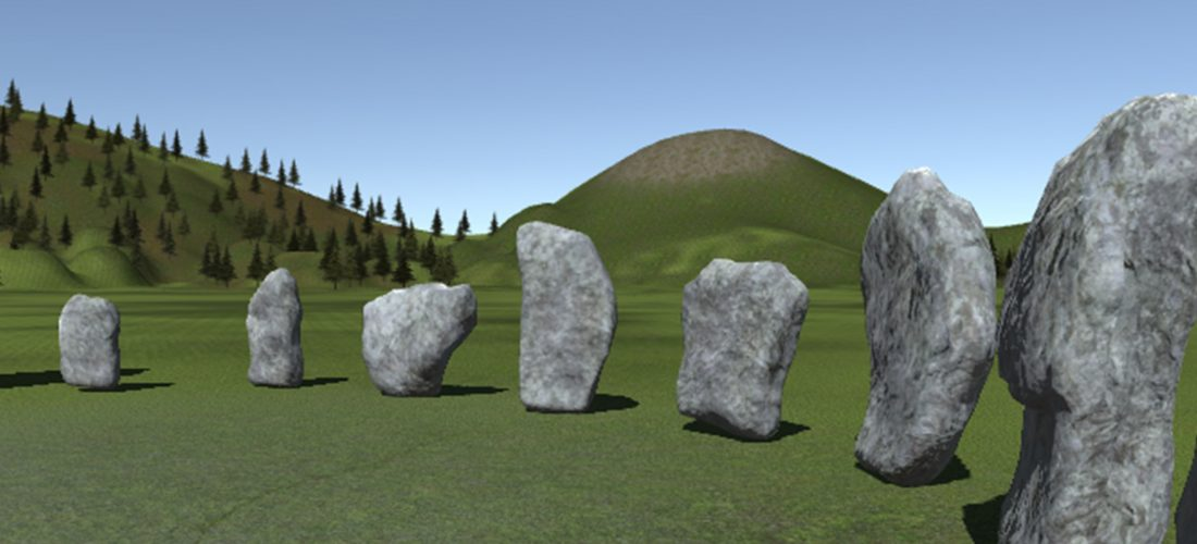 Virtual Avebury Screenshot